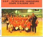 GSP ex MCA Coupe d'Algérie 2010