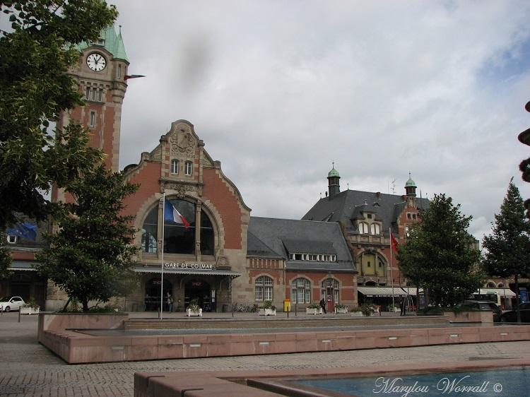 Colmar : La gare
