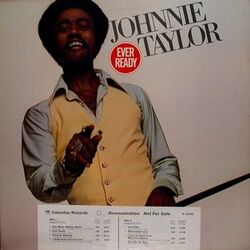 Johnnie Taylor - Ever Ready - Complete LP