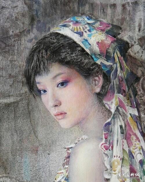 Peinture de : Chen Chong Ping