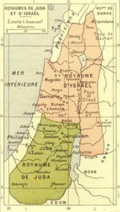 Ephraïm et Juda: le rassemblement des douze tribus
