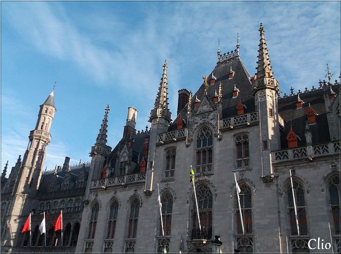 Bruges, décembre 2015 - Ville déserte ...