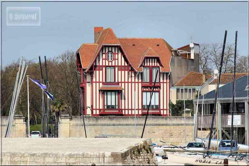 La Rochelle la Maison au Chat vue du Gabut