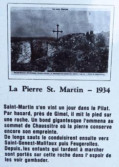 la légende de St Martin