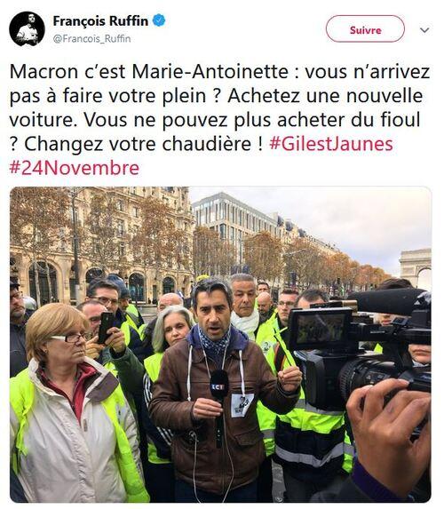 Macron, c'est Marie-Antoinette