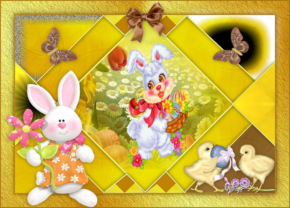 joyeuses Pâques de Garances