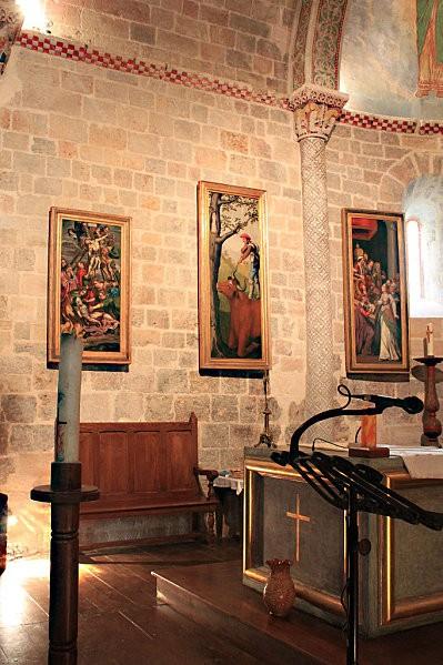 Ste Engrâce -24- l'église romane