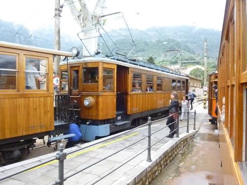 Train-Tram de Söller à Mallorque