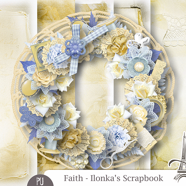 Faith Minikit by Ilonkas Scrapbook Designs