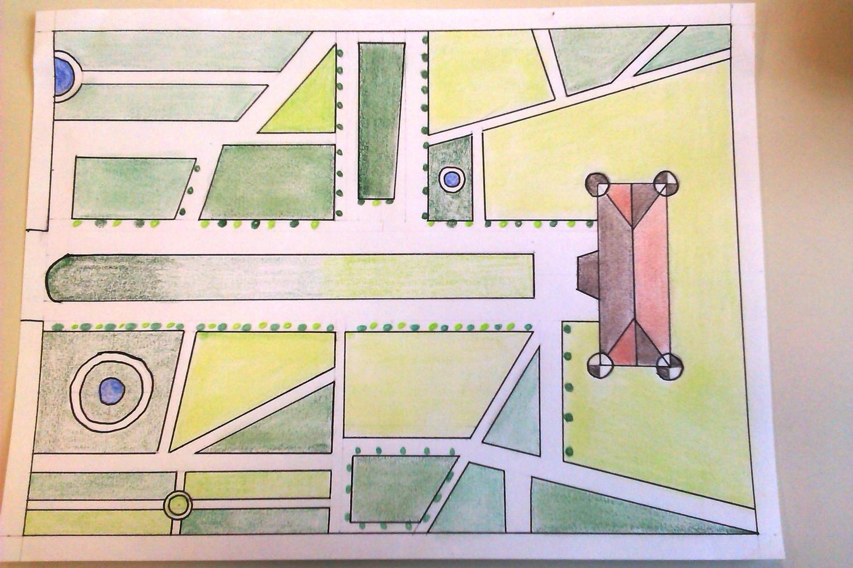 Les jardins de versailles la classe d 39 elodie - Histoire des arts les jardins de versailles ...