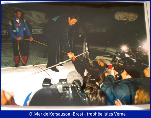 Olivier de Kersauson - suite trophée Jules Verne