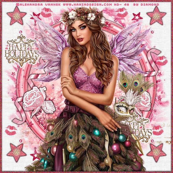 "Tutoriel ""Pink Kiss"" de Liligraph"