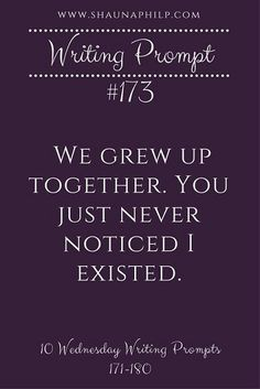 Grew up together.