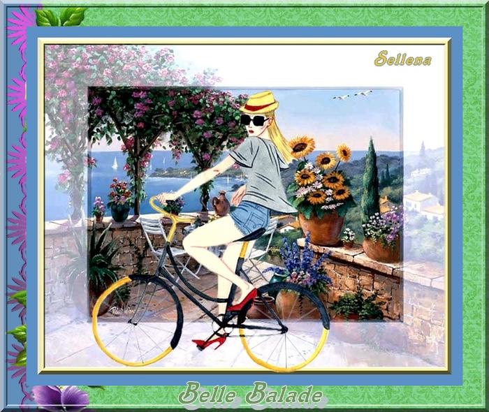 **A vélo**Défi Nathie