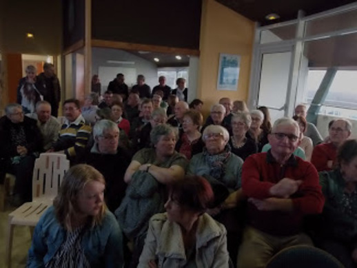 """MERCI à la cinquantaine de pêcheurs de loisir de Diélette qui se sont mobilisés pour défendre """"votre loisir"""" """" !!"""