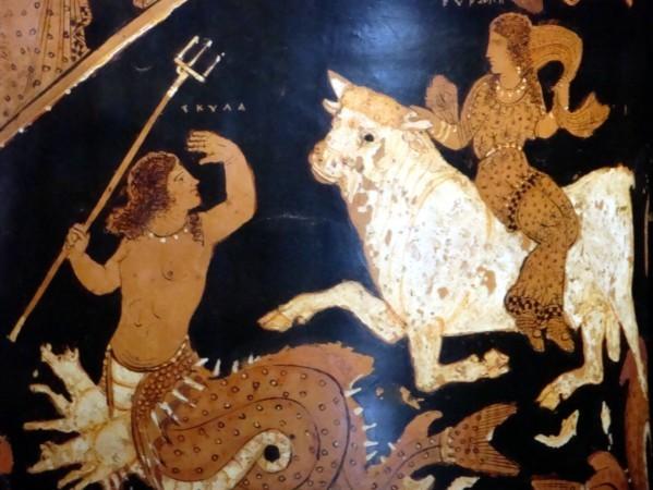 Paestum, enlèvement d'Europe