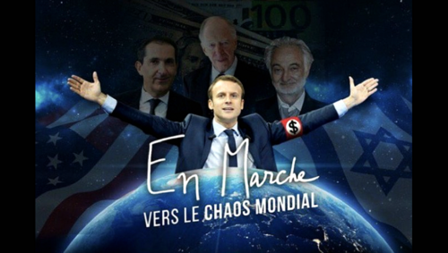 - Macron la menace...