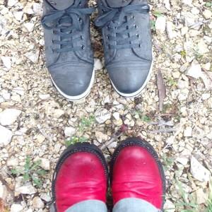 N'oublions pas notre selfie des pieds :)