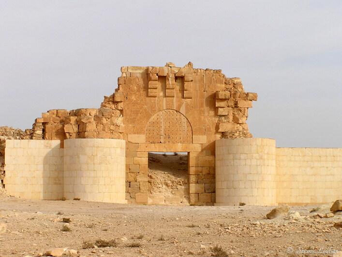 Qasr al-Hayr al-Sharqi, Syrie 2005