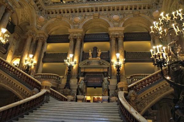 Le Palais Garnier, le grand escalier