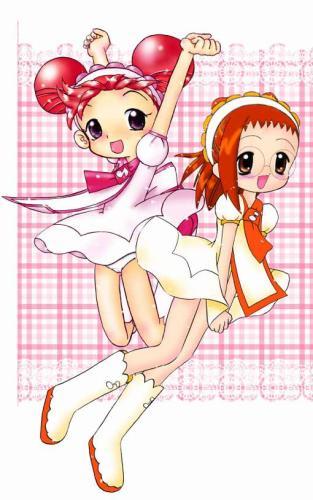 Doremi et Hazuki en pâtissières