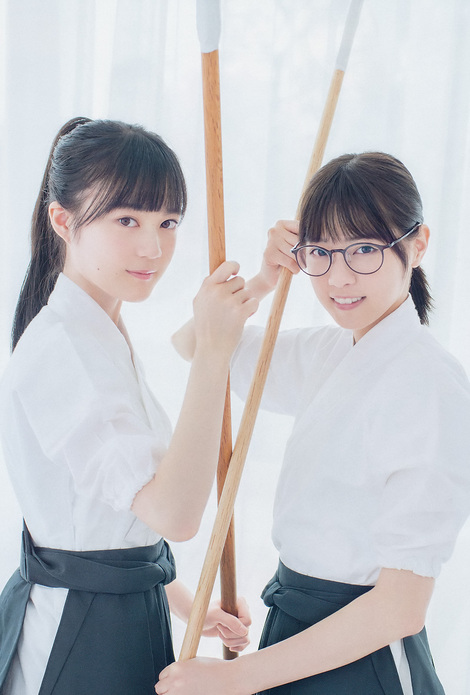 Magazine : ( [Big Comic Spirits] - 2017 / N°41-N°42 - Nanase Nishino & Erika Ikuta Centric )