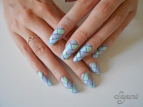 Nail Art Tresse Tréma