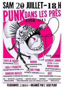 Festival Punk dans les Prés - Plougonver