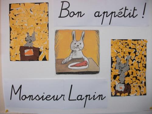 Galerie : Bon appétit! Monsieur Lapin