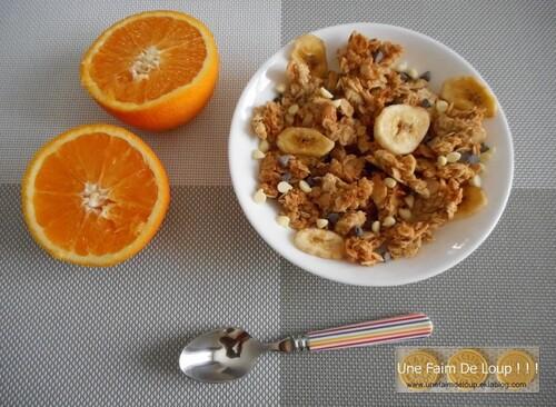 Pépites de granola choco - banane