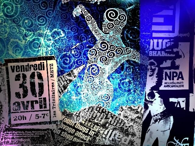 Danseuse sur l'affiche Metz 1 mp1357 2011