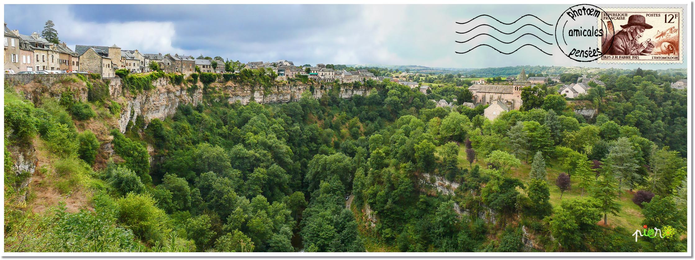 Bozouls, Aveyron.