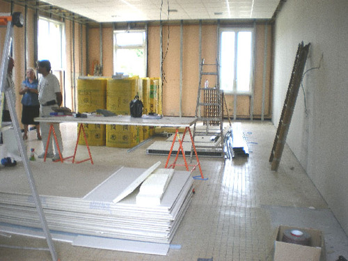 Travaux cantine scolaire