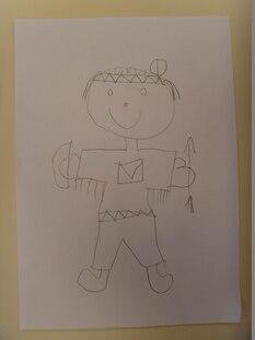 dessin du bonhomme