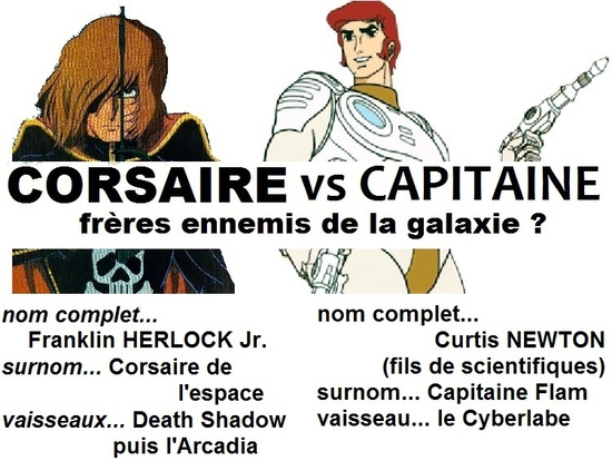 70 -corsaire vs capitaine