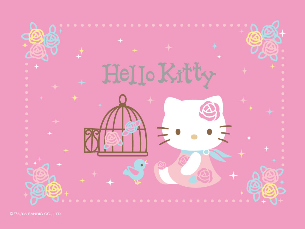 Wallpapers Hello Kitty Rose Le Coin Kawaii
