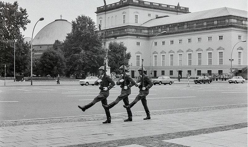 1976, Berlin avant la chute du mur en 1989