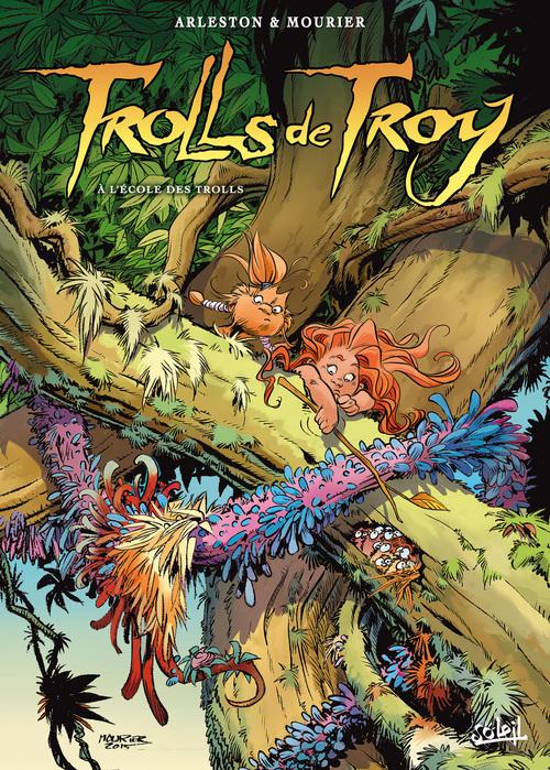 Trolls de Troy - Tome 22 A l'école des trolls - Arleston & Mourier