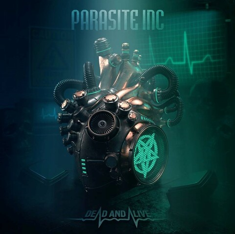 PARASITE INC - Les détails du nouvel album Dead And Alive