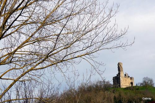 Belpech: les ruines du château