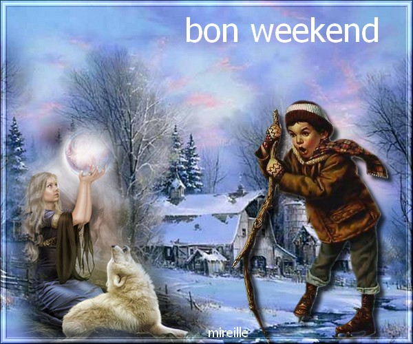 defis ella et bon weekend