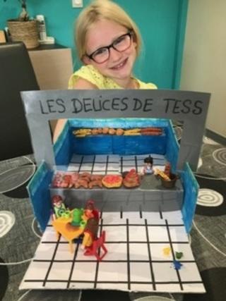 """Chef d'oeuvre de Tess sur """"le métier de boulanger"""""""