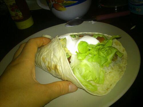 Hier soir... c'était Méxicain...ma version des Fajitas+guacamole maison