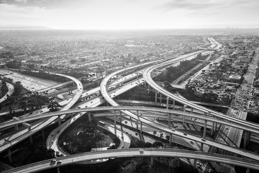 aerial Los Angeles
