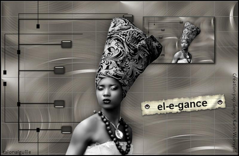 *** el-e-gance in gray ***