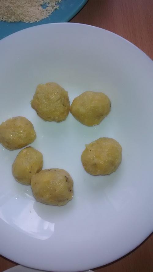 Croquettes de banane plantain