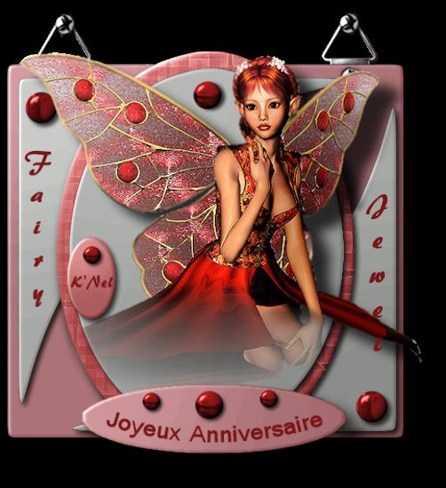"""""""Créa anniversaire pour Fairy Jewel"""""""