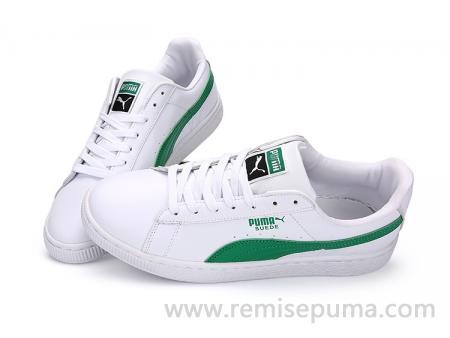 chaussure puma blanche femme