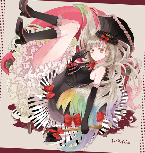 Image de mayu and vocaloid