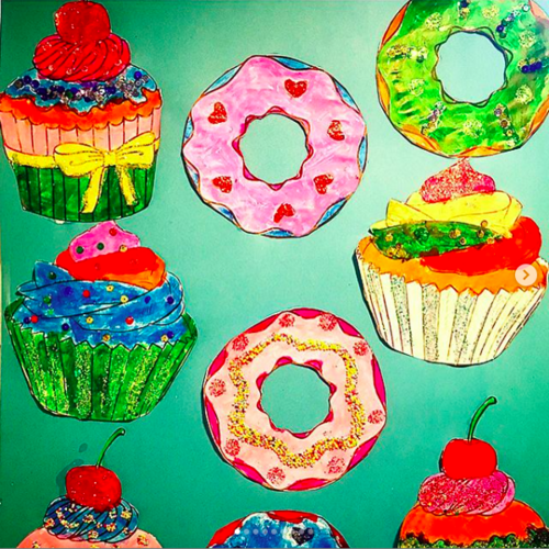 Cup cakes et donuts
